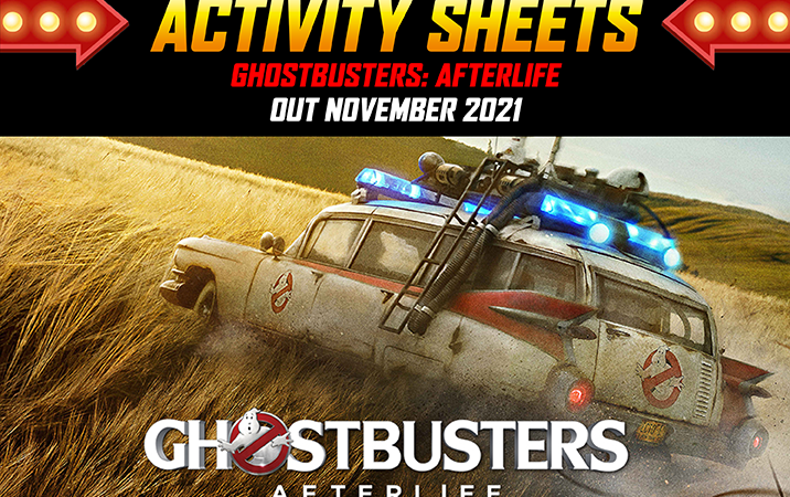 Ghostbusters: Afterlife Activity Sheets