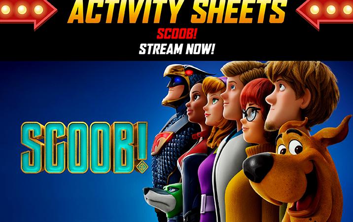 Scoob! Activity Sheets