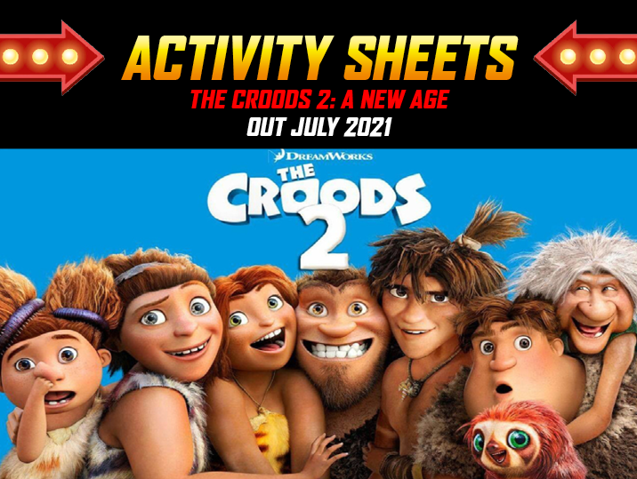 The Croods 2: A New Age Activity Sheets
