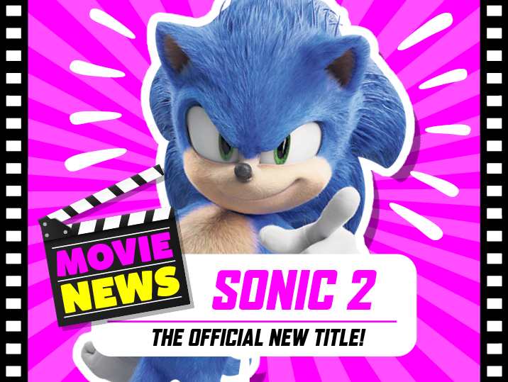 Sonic The Hedgehog 2 official new title