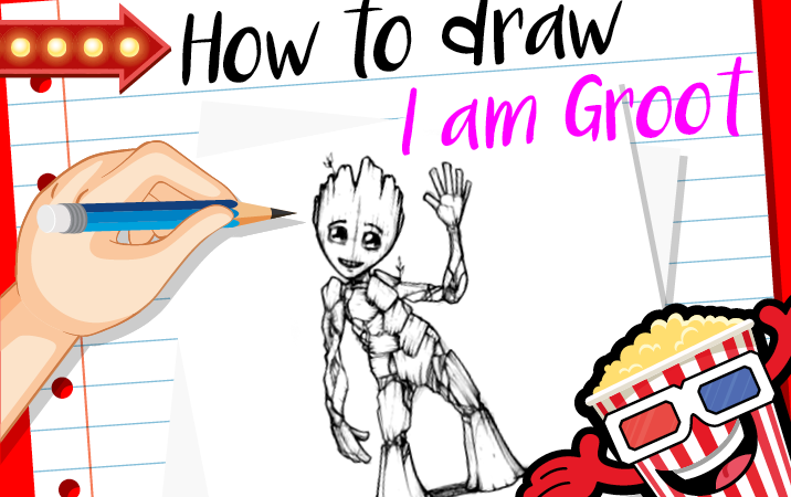 How to Draw… Groot