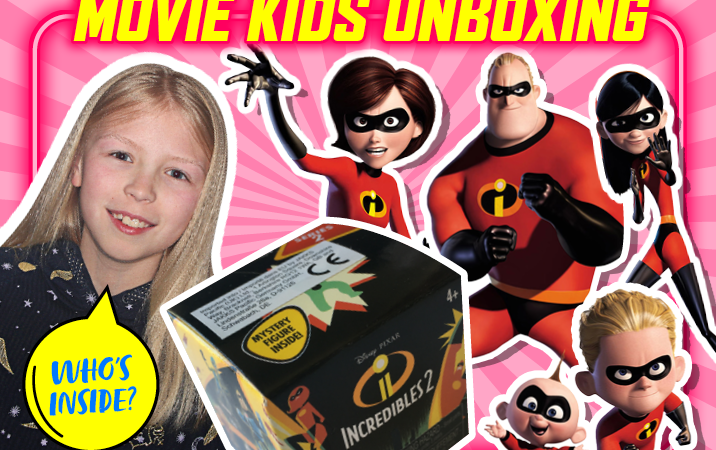 Incredibles 2 Unboxing