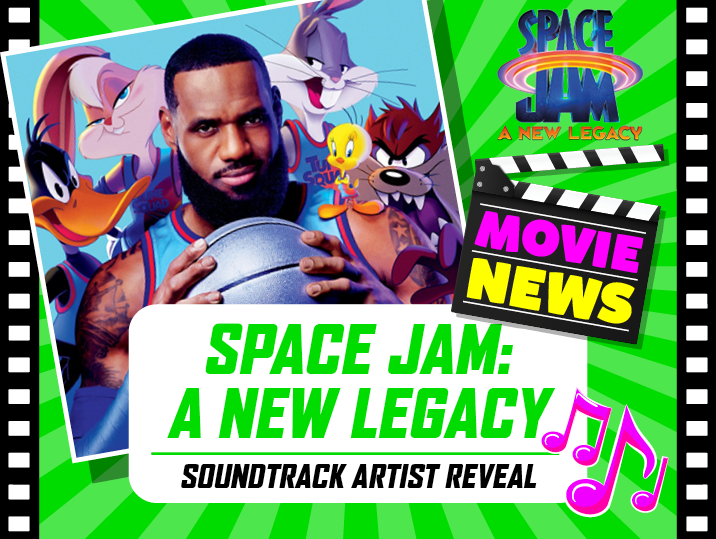 Space Jam: A New Legacy  soundtrack artist reveal