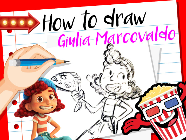 How to Draw Guilia from Luca