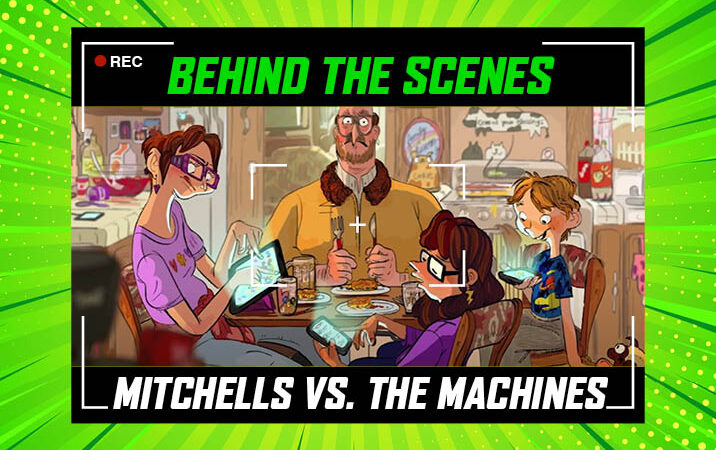 The groundbreaking animation of The Mitchells vs. The Machines