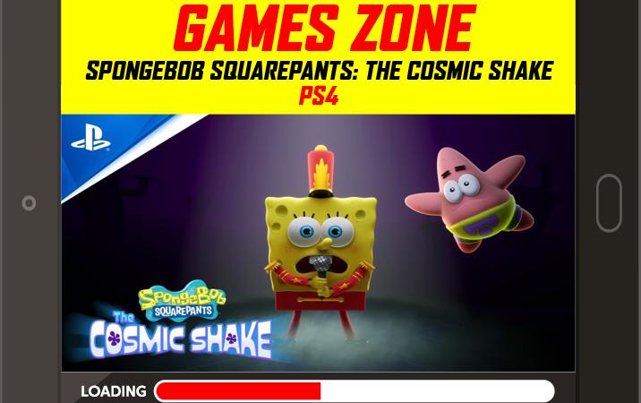 SpongeBob SquarePants: The Cosmic Shake – Announcement trailer  PS4