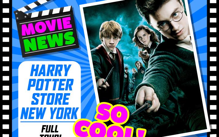 Brand new Harry Potter store New York – Full tour & walkthrough