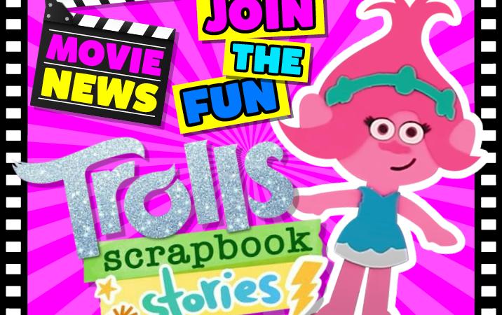 Trolls Scrapbook Stories – Poppy babysits Tiny Diamond!